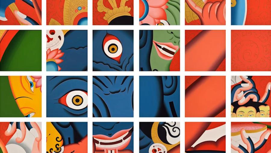 Dijf Sanders, Java, Puja, Santoshi Mata, Ravana, Synthpop, Unday Records, musicien flamand, Nepal, Tibet, musique tibetaine, chine, inde, folk népalaise, gong, mantra