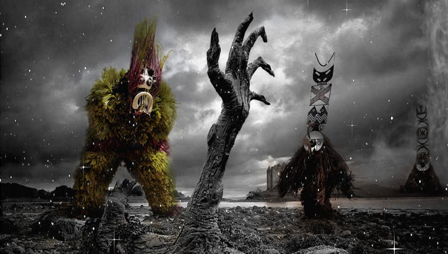 Zombie Mentale, Bantou Mentale, afroelectronique, afrofuturisme, horreur, reggae, electronique, fusion, glitterbeat, nouvel EP, Apocalypse, Doctor L