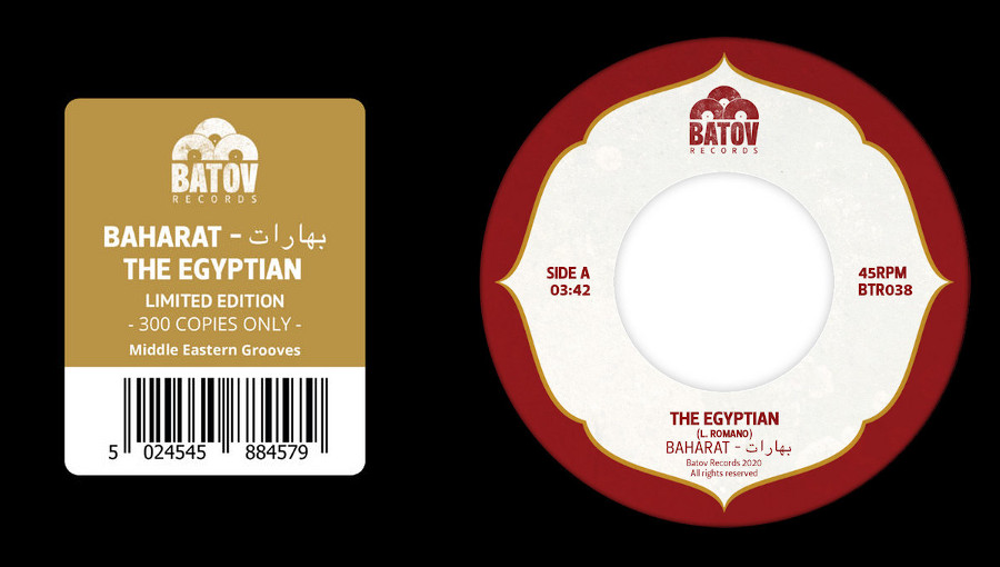 Batov Records, Baharat, The Egyptian, single, ep, moyen orient, groove, groupe israélien, dabke, Lior Romano, Matan Assayag, Gil Livni