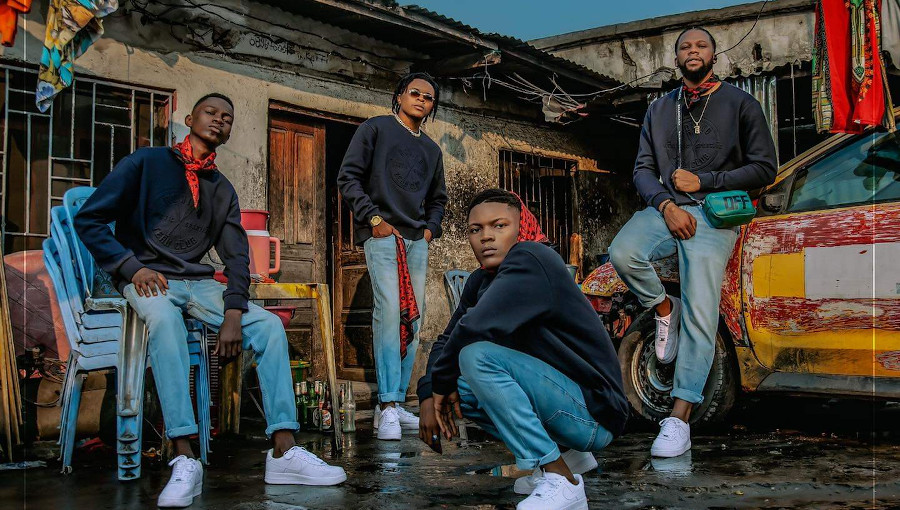 Cite Zaire, Collectif, Zozo, Yuma, TMore, Khonee, hip hop congolais, rap congolais, MPR, Musique populaire revolutionnaire, freestyle, Eternel Courageux, rap africain, Éternel Courageux