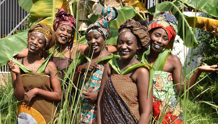 Les Mamans du Congo, Rrobin, Boum, album, jarring effects, Institut Francais, congo brazza, collectif feministe, Gladys Samba, Armel Malonga, Celine Frezza, Marie Audigier