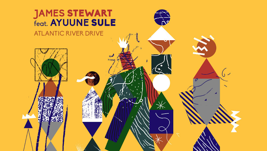 James Stewart, Ayuune Sule, Atlantic River Drive, kologo, frafra, SMDB, Simbad, remix, afro, groove, mawimbi, nouvel EP, black atlantic club