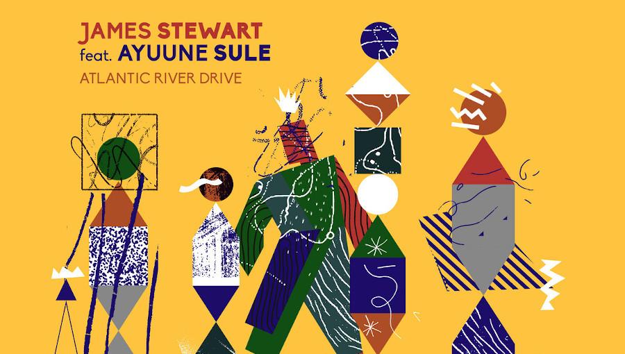 James Stewart, Ayuune Sule, Atlantic River Drive, kologo, frafra, SMDB, Simbad, remix, afro, groove, mawimbi, nouvel EP, black atlantic club