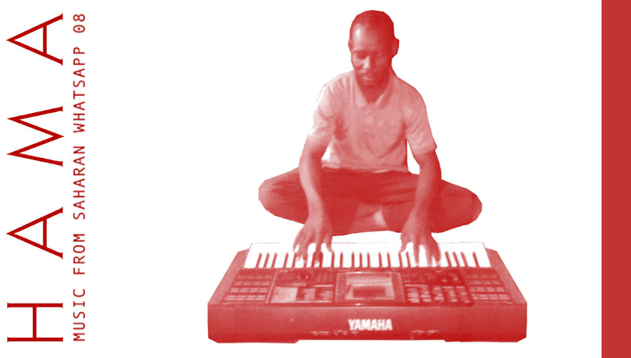 Music From Saharan Whatsapp 08, Hama, clavieriste nigerien, niger, synthé, sahel sounds, ephemere, nouvel ep, provisoire, desert
