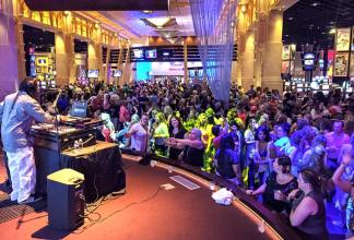 Toledo Event DJ Service - DJ One Tyme at Hollywood Casino Toledo