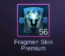 Premium Skin Fragmen Game Mobile Legends