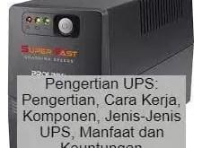 Pengertian UPS