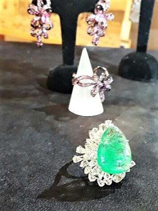 Peacock Ring by D'Joya