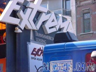 Logo Extreme on truck