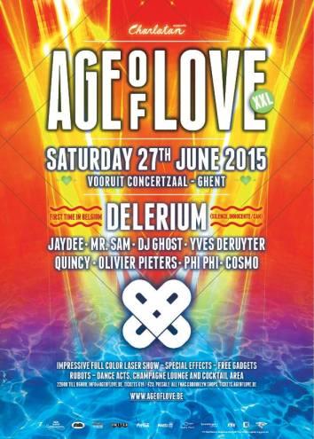Age Of Love @ Vooruit 27 06 2015