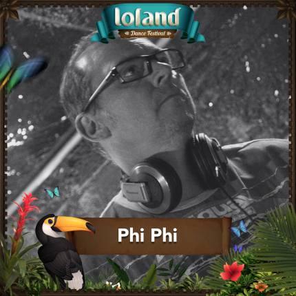 Flyer Phi Phi @ Loland Festival 2016_o