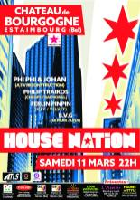 house nation @ chateau de bourgogne