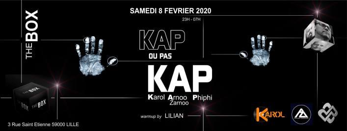 Kap ou pas Kap @ The Box 08/02/2020