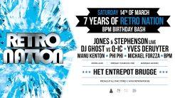 Retro Nation @ Het Entrepot 14/03/2020