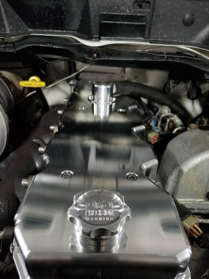 2003 Jeep Wrangler Fuel Filter Location Billet Valve Cover 03 05 Dodge Cummins D Amp J Precision Machine