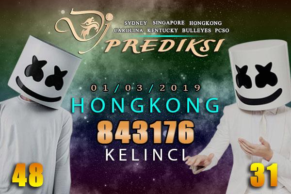 Prediksi Togel HONGKONG 1 Maret 2019 Hari Jumat