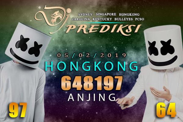 Prediksi Togel HONGKONG 5 Februari 2019 Hari Selasa