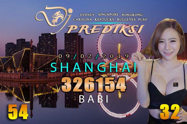 Prediksi Togel SHANGHAI 9 Februari 2019 Hari Sabtu