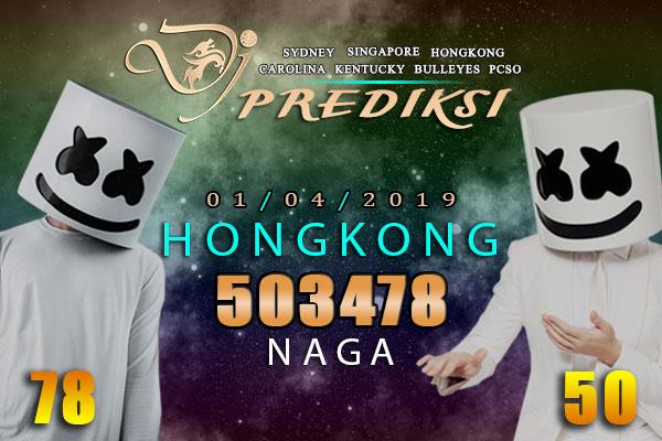 Prediksi Togel HONGKONG 1 April 2019 Hari Senin