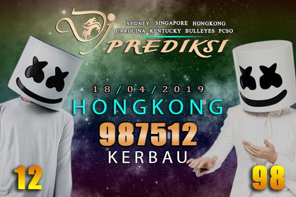 Prediksi lotere HONGKONG 18 April 2019 Kamis