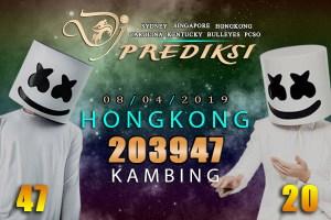 Prediksi Togel HONGKONG 8 April 2019 Hari Senin