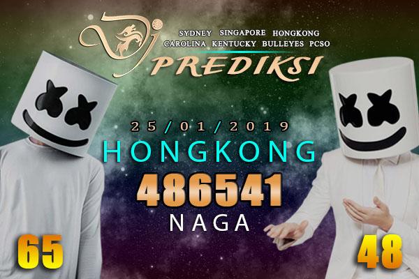Prediksi Togel HONGKONG 25 Januari 2019 Hari Jumat
