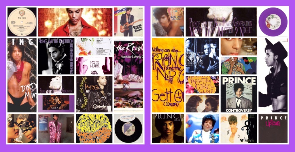 Prince's Legacy:  His 57 Greatest Songs from the Classic Years (1978 - 1996)