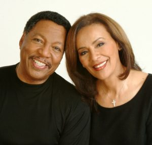 Billy Davis, Jr. and his partner and wife of 46 years, Marilyn McCoo