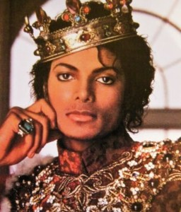Michael began calling himself the King of Pop - and rightly so - after his Thriller success.
