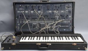 The ARP 2600 synthesizer, an instrument used on many classic hits written and produced by Jasper.
