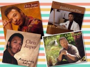 Four gospel albums recorded by Chris Jasper