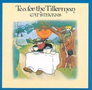 Cat Stevens' Tea For The Tillerman was his first million-selling album, peaking at #2 in 1971.