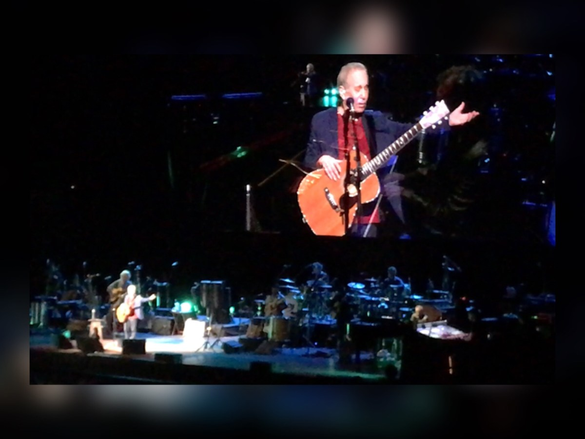 "Paul Simon's Farewell Sound Was Anything But ""Silent"" (at PPG Paints Arena in Pittsburgh Monday Night)."