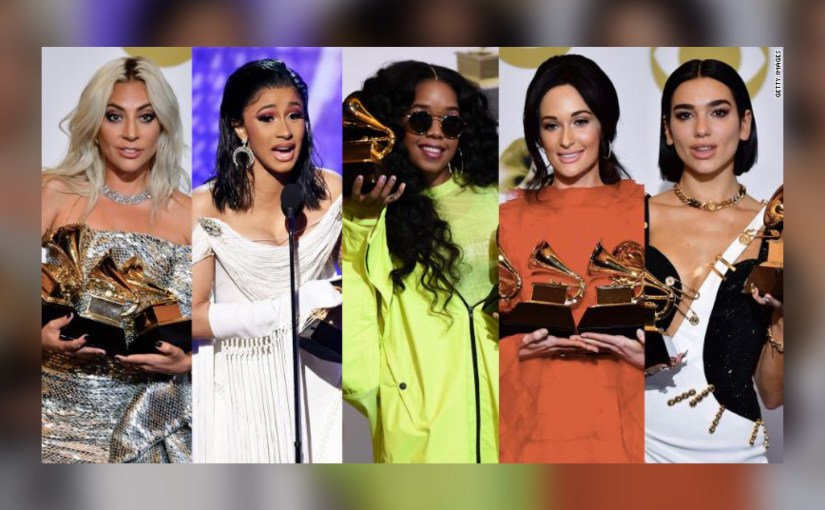 "Year of the Woman?  In this year's 'woke' Grammys, women ""stepped up.""  But this much?"
