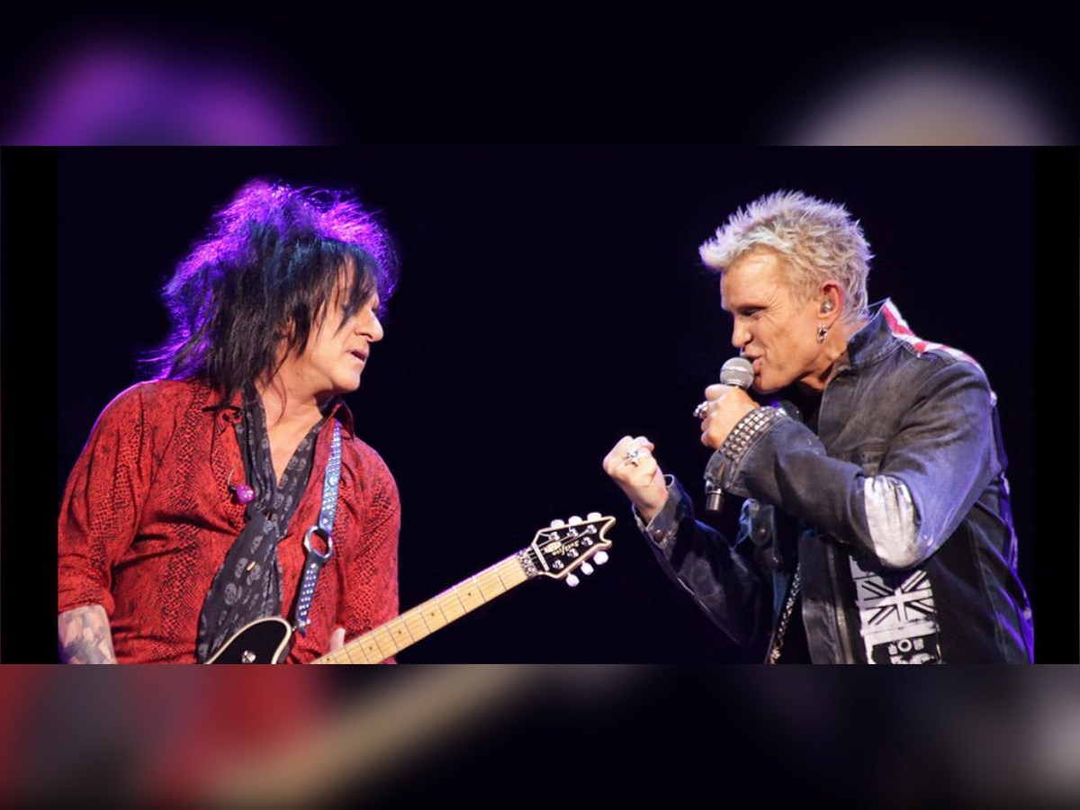 A Deep, Acoustic Night with... Billy Idol and Steve Stevens