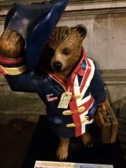 Paddington Bears are all across the city.