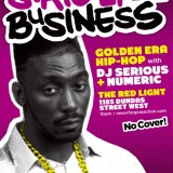 Strictly business @ The Red Light – tonight!
