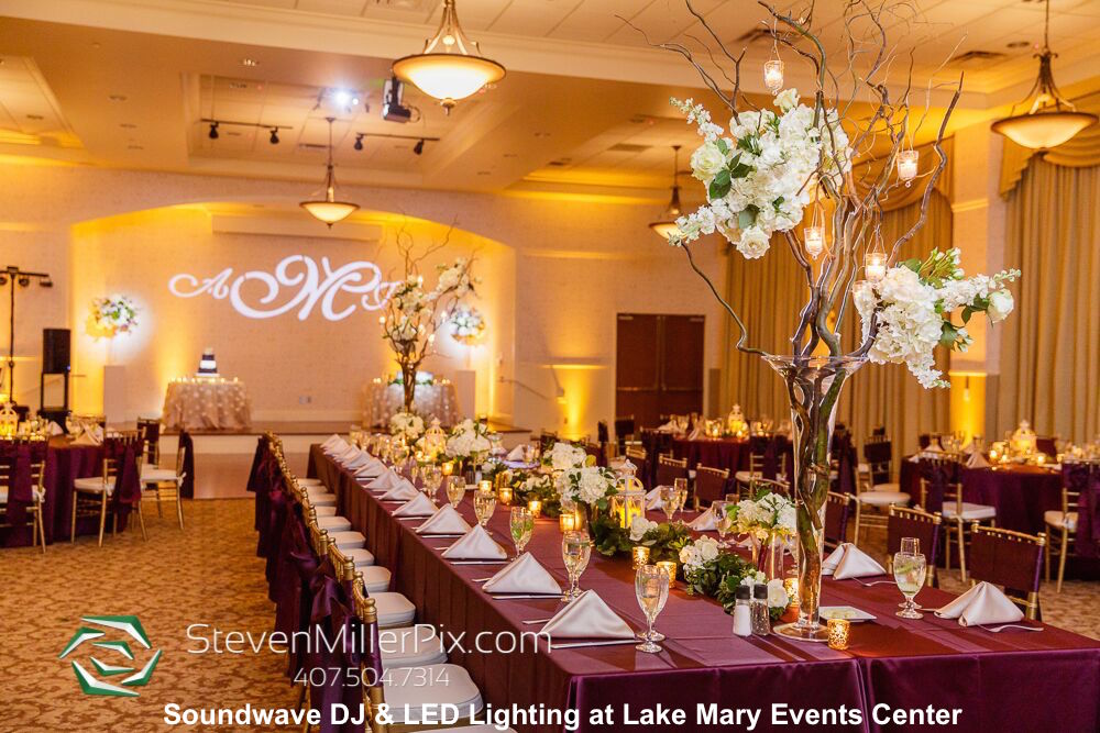 Lake Mary Events Center Soundwave Entertainment Wedding Djs Led Lighting Design Orlando
