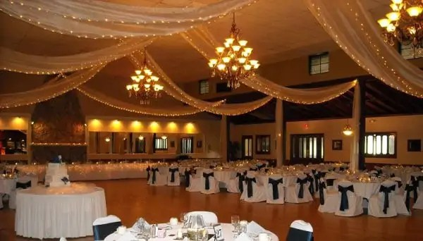 Inside a Wedding Venue