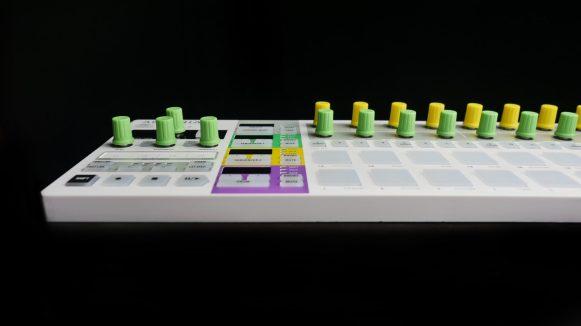 Chroma Caps on Beatstep PRo