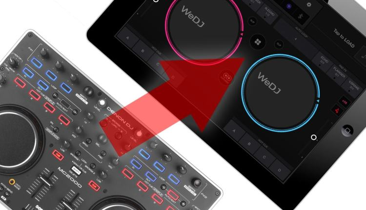 how to use any midi controller with wedj cross dj ios apps dj techtools. Black Bedroom Furniture Sets. Home Design Ideas
