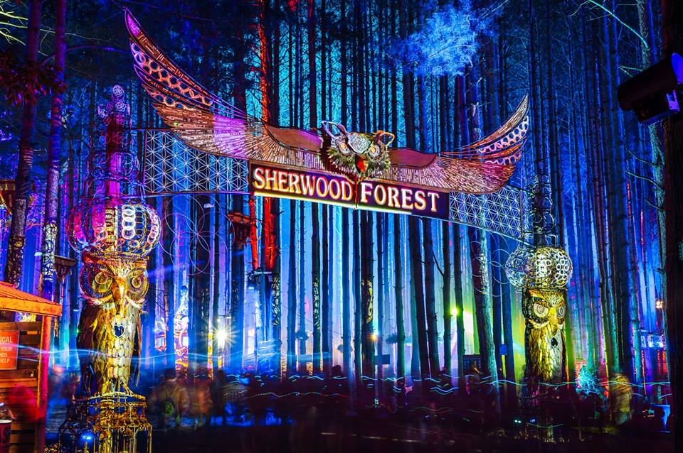 kitchen tv mount inexpensive table sets electric forest announces 2018 lineup additions & new program