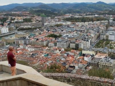 View of the city from Castillo dela Mota