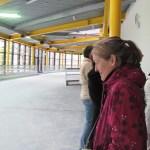 KJV im Lentpark. Blick auf die leere Hochlaufeisbahn