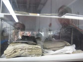In speziellen Anlagen werden die Dokumente getrocknet. Foto: Corinna Blümel