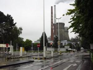 Werk Nord der Shell Rheinland Raffinerie. Foto Corinna Blümel