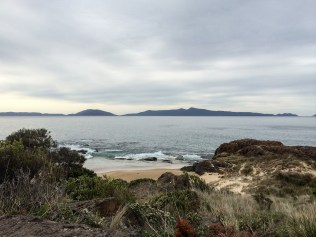 Looking out to Maria Island Marine Reserve © Danielle Ryan - Bluebottle Films