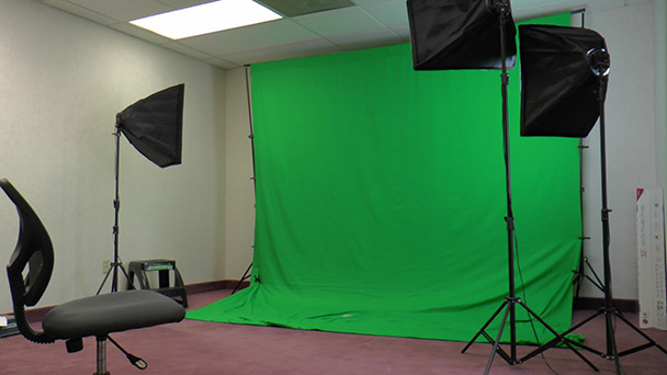 green screen photobooth