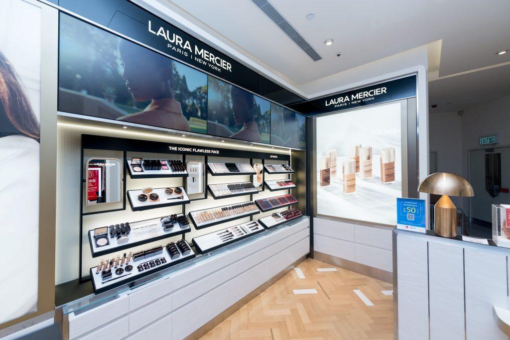 Shiseido and DFS shine spotlight on Laura Mercier via new retail concept