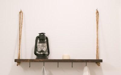 How to Make a Rope Swing Shelf